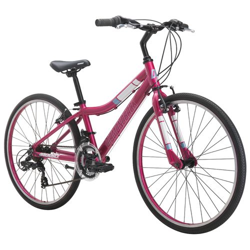 "Display product reviews for Diamondback Girls' Clarity 24"" 14-Speed Performance Hybrid Bike"