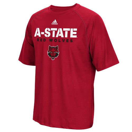 adidas™ Men's Arkansas State University Sideline climalite® T-shirt
