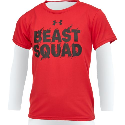 Under Armour Boys' Beast Squad Short Sleeve T-shirt