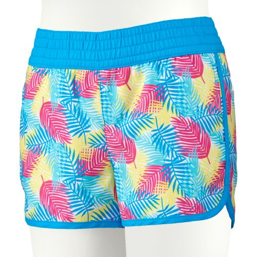 O'Rageous Girls' Palm Print Boardshort