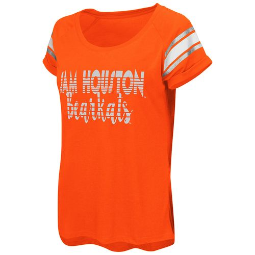 Colosseum Athletics™ Women's Sam Houston State University Karate Cuffed Raglan T-shirt - view number 1