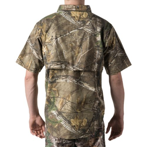 Walls Men's Cape Back Camo Short Sleeve Shirt - view number 2