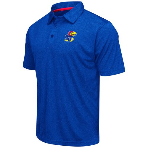 Colosseum Athletics™ Men's University of Kansas Academy Axis Polo Shirt - view number 1