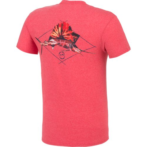 Magellan Outdoors™ Men's Tie Dye Sailfish Short Sleeve T-shirt