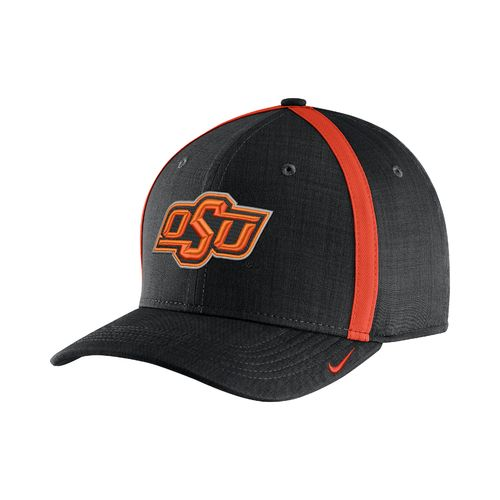 Nike™ Men's Oklahoma State University AeroBill Sideline Coaches Cap - view number 1