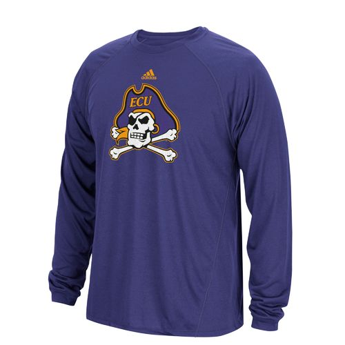 adidas Men's East Carolina University Sideline Spine T-shirt