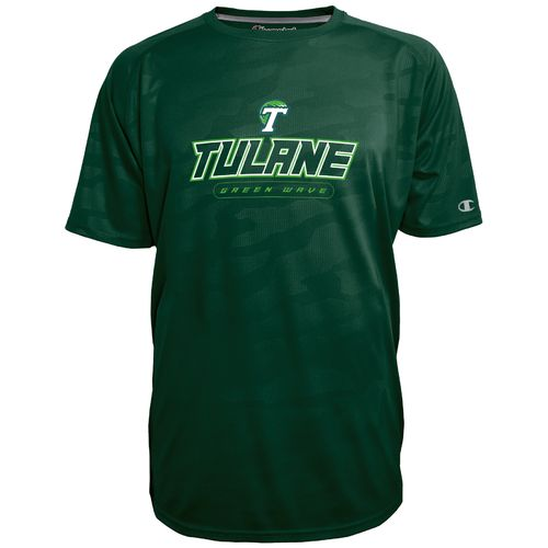 Champion™ Men's Tulane University Impact Embossed T-shirt