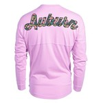 Venley Women's Auburn University Hawaiian Spirit Long Sleeve Football T-shirt - view number 1