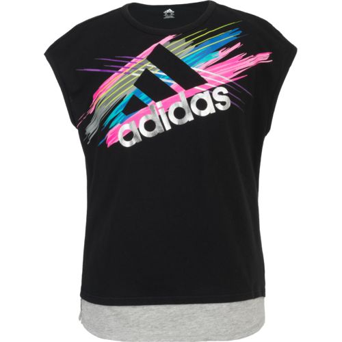 adidas Girls' Run Wild Sport Top