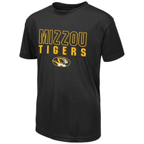 Colosseum Athletics Boys' University of Missouri Team Mascot T-shirt