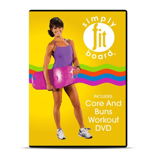 Simply Fit Board Core and Buns Workout DVD