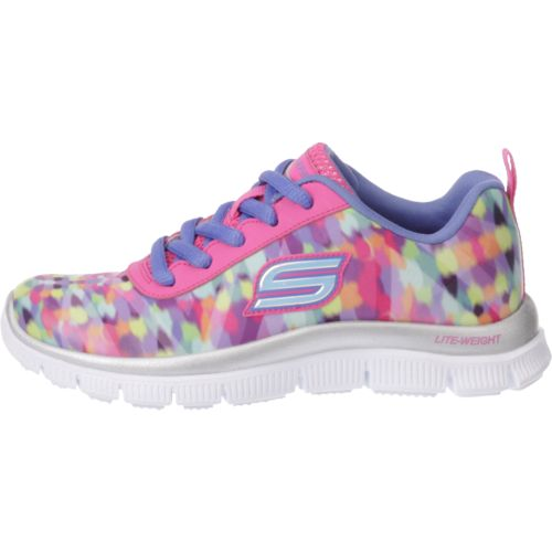 SKECHERS Girls' Skech Appeal Color Daze Training Shoes - view number 6