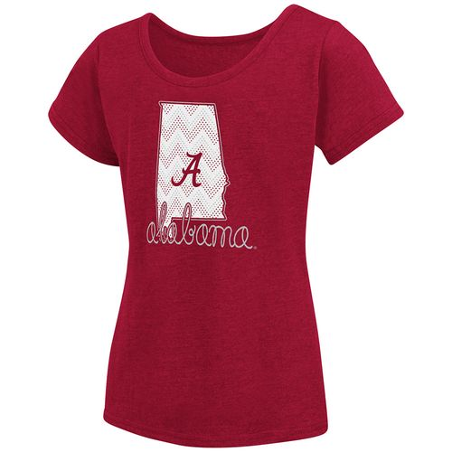Colosseum Athletics™ Girls' University of Alabama Tissue 2017 T-shirt