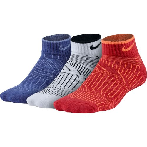Nike Boys' Lightweight Cushioned Low-Cut Socks