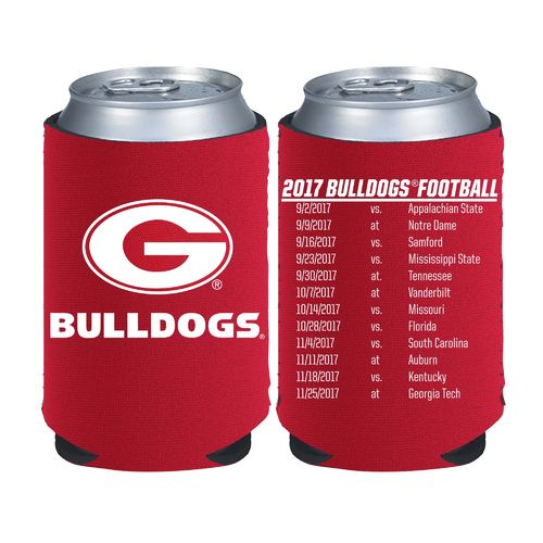 Kolder Kaddy University of Georgia 2017 Football Schedule 12 oz Can Insulator