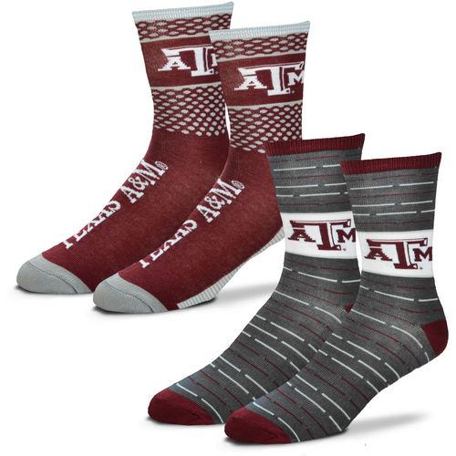 For Bare Feet Men's Texas A&M University Father's Day Socks