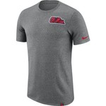 Nike™ Men's University of Mississippi Dry Marled Patch T-shirt - view number 1