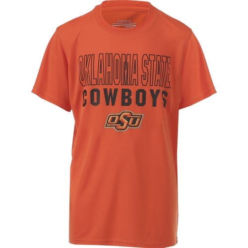 Colosseum Athletics Boys' Oklahoma State University Team Mascot T-shirt