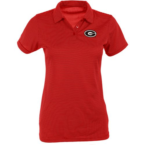 Antigua Women's University of Georgia Quest Polo Shirt - view number 1
