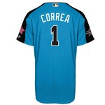 Majestic Men's Houston Astros Carlos Correa 1 All-Star Game Homerun Derby Jersey - view number 2