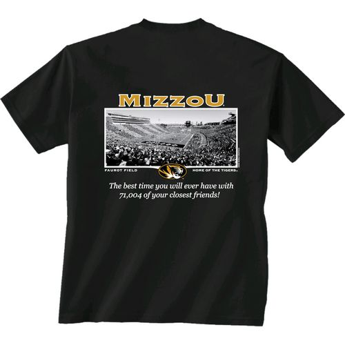 New World Graphics Men's University of Missouri Friends Stadium T-shirt
