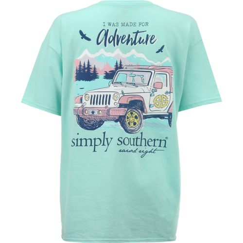 Display product reviews for Simply Southern Women's Adventure T-shirt