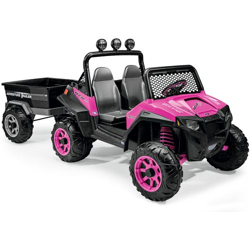 Peg Perego Girls' Polaris RZR 900 12 v Ride-On Vehicle - view number 8