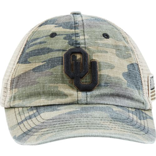 Top of the World Men's University of Oklahoma Declare 2-Tone Adjustable Cap