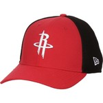 New Era Men's Houston Rockets On Court 2-Tone 39THIRTY Cap - view number 2