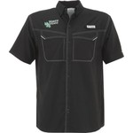 Columbia Sportswear Men's University of North Texas Low Drag Offshore Short Sleeve Shirt - view number 1