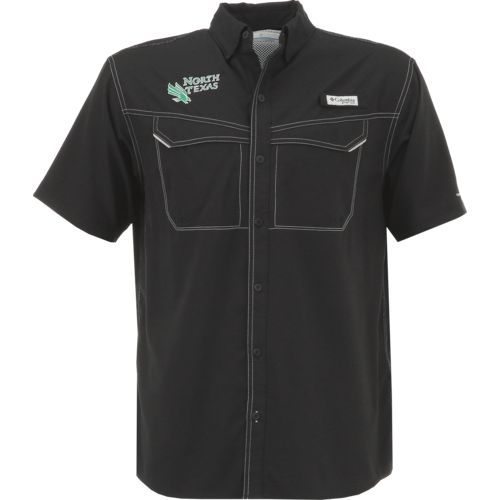 Columbia Sportswear Men's University of North Texas Low Drag Offshore Short Sleeve Shirt