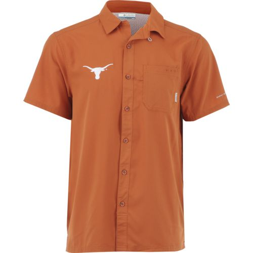 We Are Texas Men's University of Texas Slack Tide Fishing Shirt
