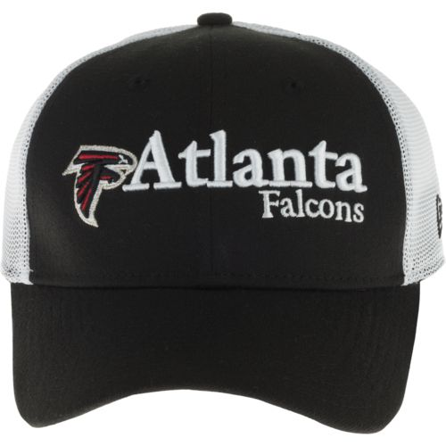 New Era Men's Atlanta Falcons 39THIRTY Wordmark Mesh Cap