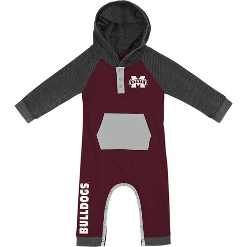 Colosseum Athletics Infant Boys' Mississippi State University Truffle Ruffle Onesie