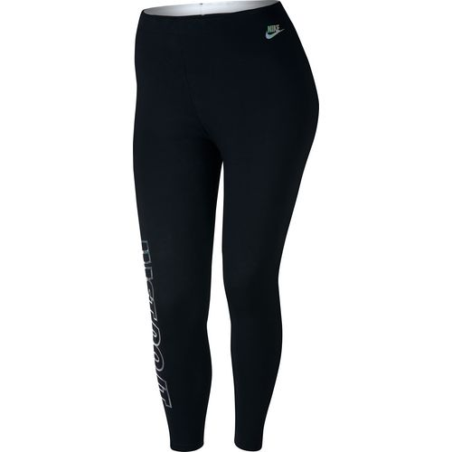Display product reviews for Nike Women's Sportswear Metallic Club Plus Size Legging