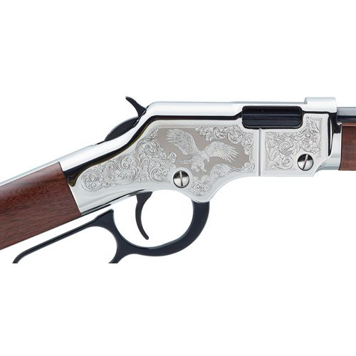 Henry Golden Boy Silver Eagle 2nd Edition .22 LR/Long/Short Lever-Action Rifle - view number 2