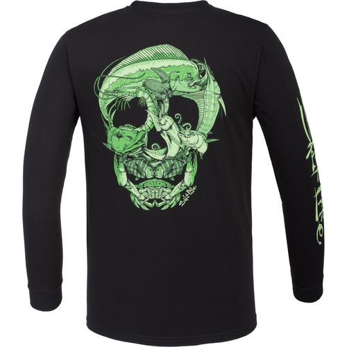 Salt Life Men's Sea Skull Long Sleeve T-shirt