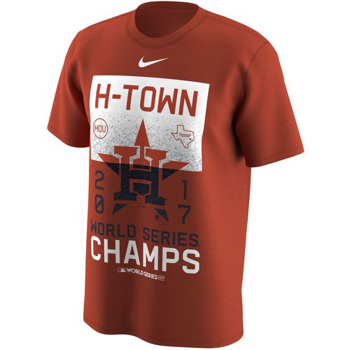 Nike Men's Astros 2017 World Series Champs H-Town T-Shirt