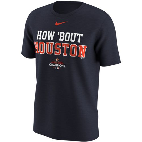 Nike Men's Houston Astros How 'Bout Houston World Series T-Shirt