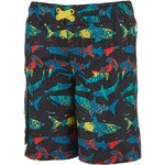 O'Rageous Boys' Palm Shark Printed Boardshorts - view number 1