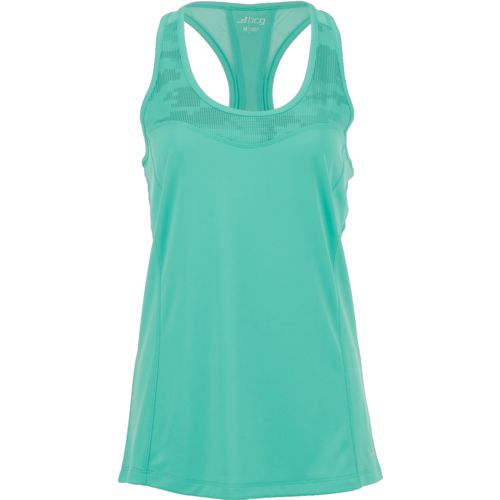 Display product reviews for BCG Women's Athletic Run Reflective Pieced Racer Tank Top