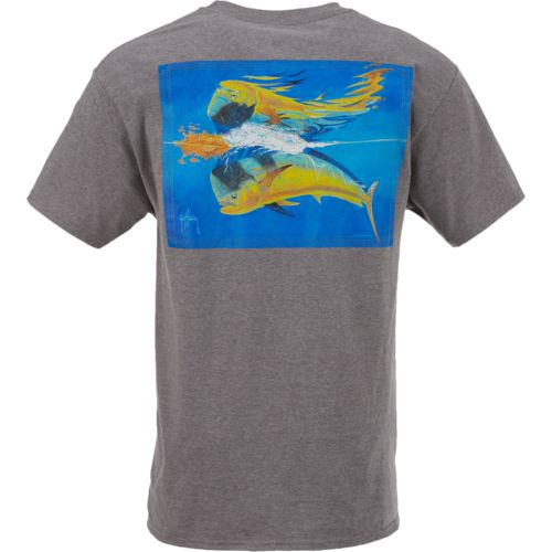 Guy Harvey Men's Mahi Reflections T-shirt - view number 3