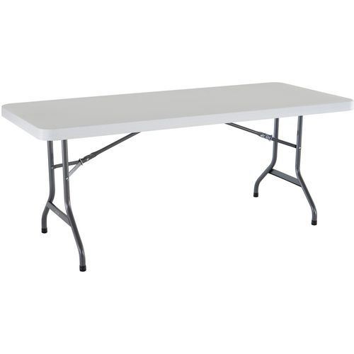 Lifetime 6 ft Commercial Plastic Folding Banquet Table