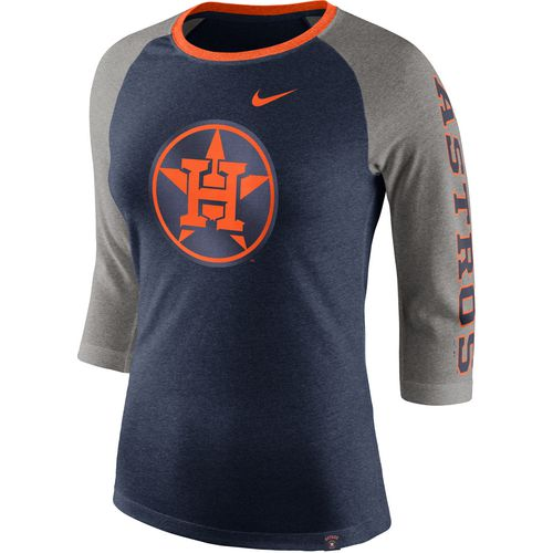 Nike Women's Houston Astros Tri Raglan T-shirt