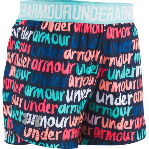 Under Armour Toddler Girls' Brushmark Play Up Shorts