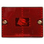 Optronics® Square Marker/Clearance Light with Reflex