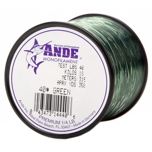 ANDE® Premium 40 lb. - 350 yards Monofilament Fishing Line