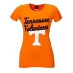 Blue 84 Juniors' University of Tennessee Dyed V-neck T-shirt