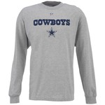 Reebok Men's Dallas Cowboys Authentic Long Sleeve T-shirt
