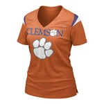 Nike Women's Clemson University Replica T-shirt